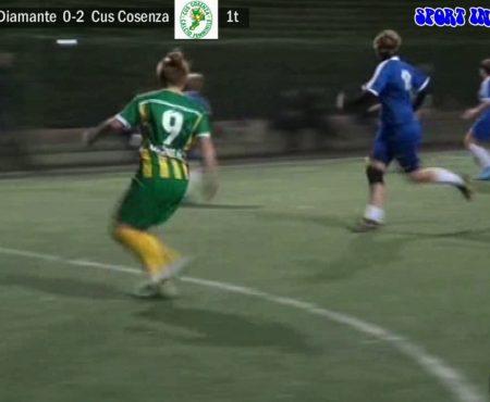Calcio a 5 Femminile: Virtus Diamante – Cus Cosenza