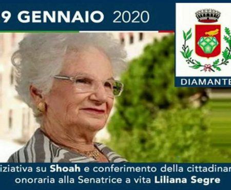 Diamante: Conferimento Cittadinanza Onoraria alla Senatrice Liliana Segre – Integrale