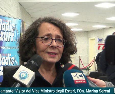 Intervista a: Vice Ministro degli esteri l'On. Marina Sereni e Alessandro Maturo della World Chilli Alliance