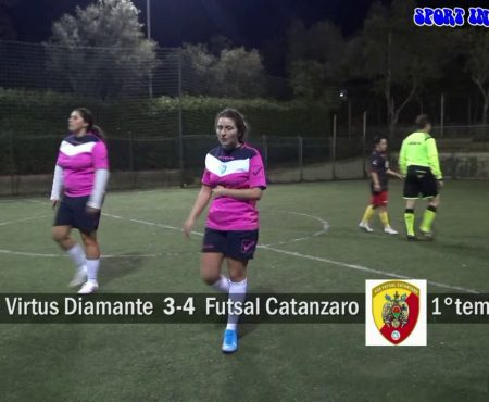 Calcio a 5 femminile: Virtus Diamante-Futsal Catanzaro 4-4 sintesi