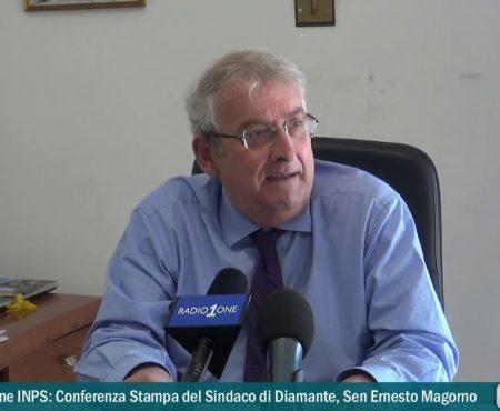 Questione Sede INPS: Conferenza stampa del Sindaco di Diamante, sen.Ernesto Magorno