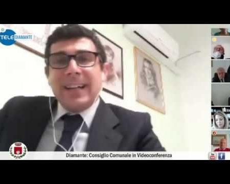 Diamante: Consiglio comunale in videoconferenza del 25/04/20