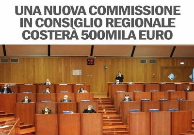 """Io Resto in Calabria: """"Nuova commissione da 500mila euro. Un brutto messaggio"""""""