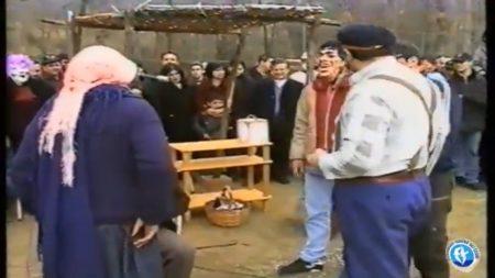 Buonvicino Carnevale 2000, la mascherata teatrale