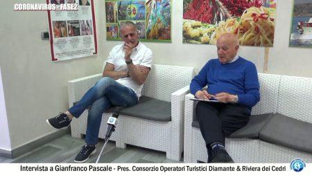 Coronavirus: Intervista a Gianfranco Pascale Pres.Consorzio Operatori Turistici Diamante & Riviera dei Cedri