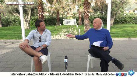 Coronavirus Fase2: Intervista a Salvatore Adduci-titolare del Lido Miami Beach di S.Maria del Cedro