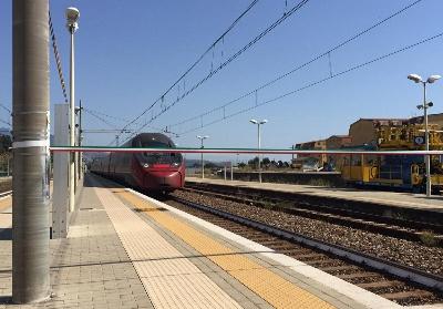 Fermata del treno Italo a Scalea. Per le Associazioni promotrici è un evento storico