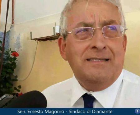 Il Sindaco di Diamante Sen. Ernesto Magorno traccia un primo bilancio dell'Estate 2020