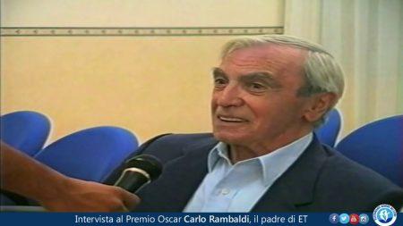 Intervista al Premio Oscar Carlo Rambaldi, il padre di ET (2006)