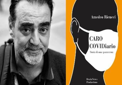 """Diamante: Il giornalista Amedeo Ricucci presenta il suo """"Caro COVIDiario"""""""