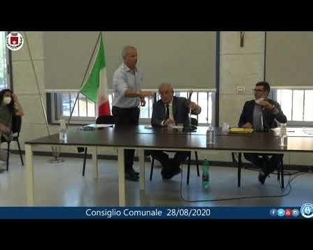 Diamante: Consiglio comunale del 28/08/2020