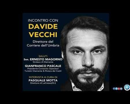Diamante: Incontro con Davide Vecchi – Giornalista – Saggista – Direttore Corrieri del Centro Italia