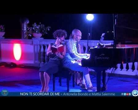 """Diamante: """"NON TI SCORDAR DI ME"""" – Antonella Biondo e Mattia Salemme in concerto"""