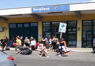 Scalea: Attivato servizio bus in coincidenza con l'arrivo e la partenza di alcuni treni