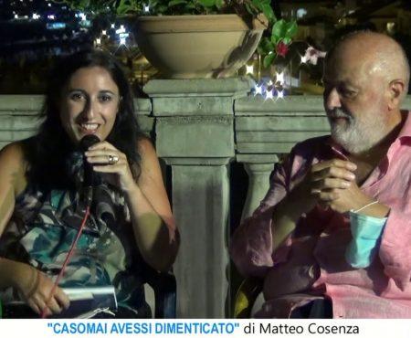 """Diamante: Presentazione del libro di Matteo Cosenza – """"Casomai avessi dimenticato"""""""