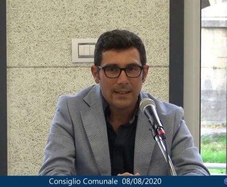 Diamante: Consiglio comunale del 08/08/2020