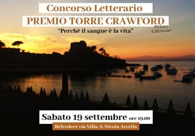 """A San Nicola Arcella il Concorso letterario """"Premio Torre Crawford"""""""