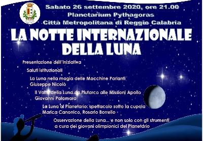 """A Reggio Calabria l'undicesima edizione de """"La Notte internazionale della Luna"""""""