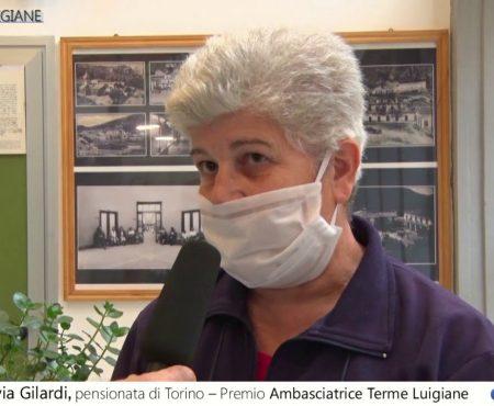 """Silva Gilardi, pensionata di Torino """"Ambasciatrice delle Terme Luigiane"""" -Intervista"""