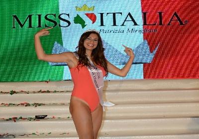 Miss Italia. Francesca Russo è l'unica rappresentante Calabrese. Aveva vinto le selezioni a Diamante