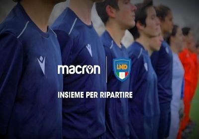LND e Macron donano un kit gara a Società dilettantistiche con settore giovanile