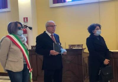 Cetraro ringrazia il Comandante della Stazione Carabinieri, Cav. Pasquale Schettini