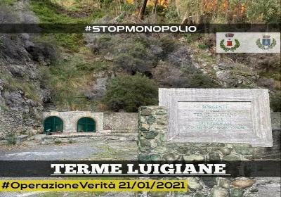 """Terme Luigiane: """"La società Sa.Te.Ca. non ha inteso restituire i beni comunali"""""""