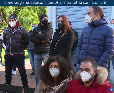 Terme Luigiane. Interrotte le trattative tra Sateca e Comuni – Immagini/Interviste