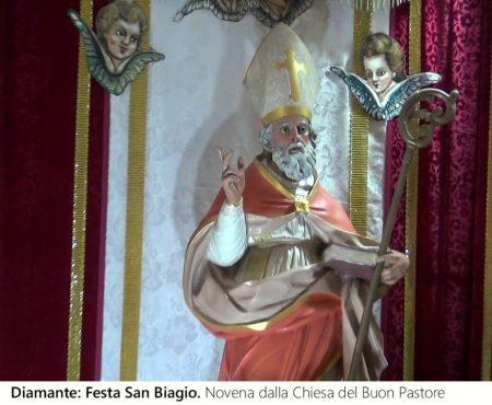 Diamante: Santa Messa – Novena di San Biagio