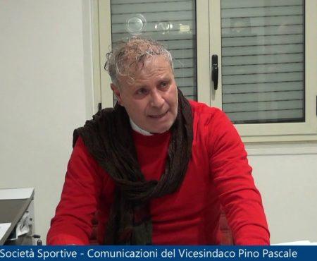 Società Sportive- Comunicazioni del Vicesindaco di Diamante Pino Pascale