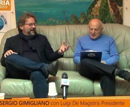 Regionali 2021 – Intervista a Sergio Gimigliano – Candidato con Luigi De Magistris Presidente