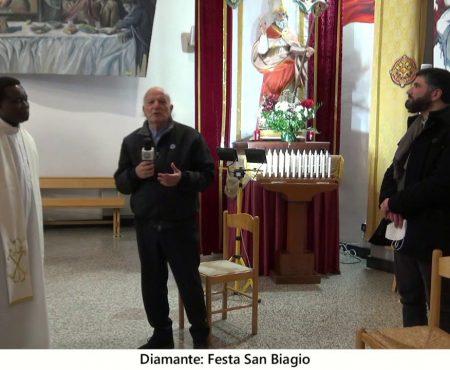 Diamante. Festa di San Biagio: Intervista a Don Eugenio e Don Ernesto
