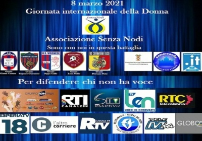 L'Associazione Senza Nodi insieme al mondo del calcio e alle tv locali dice No alla violenza di genere