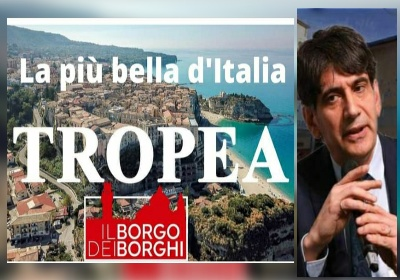 """Tansi: """"Tropea e Calabria baciate da Dio, non dagli uomini. Ma noi valorizzeremo questo Tesoro"""""""
