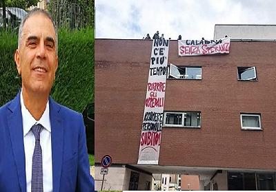 """Raffaele Papa: """"Sanità alla deriva. Cittadini occupano l'Asp di Cosenza nella quasi totale indifferenza"""""""
