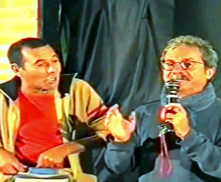 TD Story: Chechè e Gianni Pellegrino. Divertentissima scenetta al Peperoncino Festival di Diamante