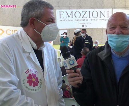 Vax Day Diamante – interviste al Dott. Cianni e Vicesindaco Pascale