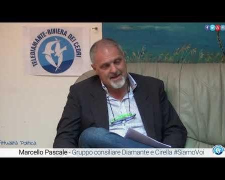 Intervista a Marcello Pascale – Gruppo Consiliare Diamante e Cirella #SiamoVoi