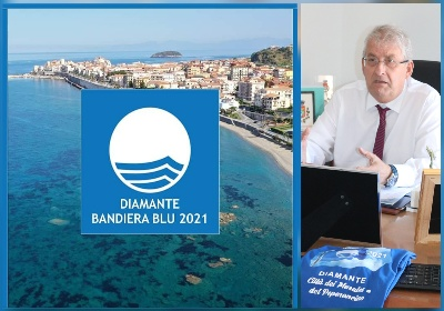 """Diamante Bandiera Blu. Il Sindaco Magorno: """"Un riconoscimento storico"""""""