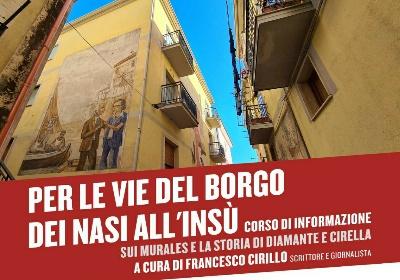 """""""Per le vie del Borgo dei nasi all'insù"""". Un ciclo di incontri a cura del COT Diamante & Riviera dei Cedri"""