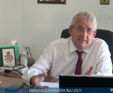 Diamante Bandiera Blu 2021. Le dichiarazioni del Sindaco Magorno