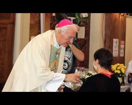 Diamante: Santa Messa Mons. Piero Marini – Cerimoniere di San Giovanni Paolo II