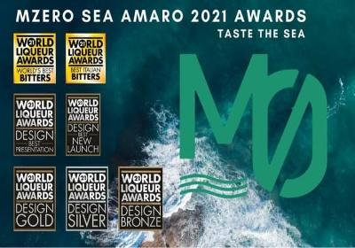 Dalla World Drinks Awards arrivano altri premi per l'Amaro Calabrese MZero