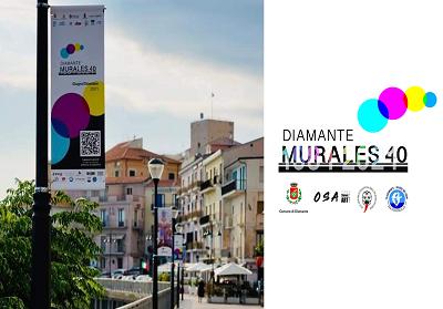 Diamante celebra i 40 anni dell'Operazione Murales. Al via il Festival di Arte urbana più atteso dell'estate