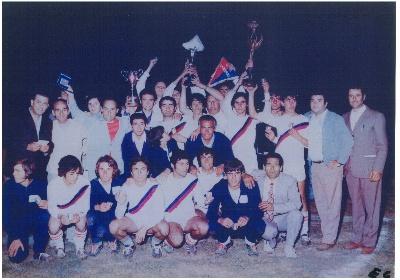 Scalea celebra i 50 anni dei Campioni d'Italia juniores dilettanti