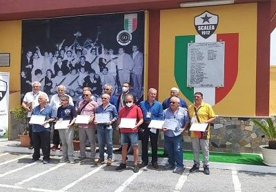 Scalea: Consegnate le civiche benemerenze ai Campioni d'Italia del 1971