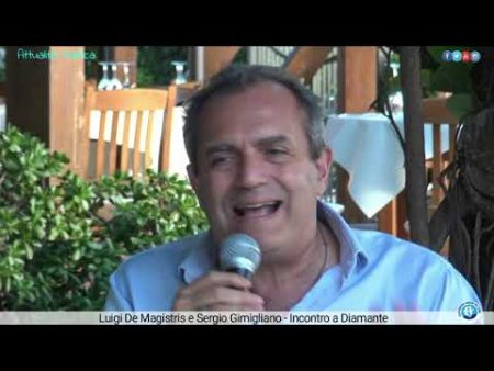 Diamante: Incontro con Luigi De Magistris e Sergio Gimigliano