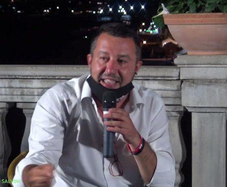 Diamante: Il giornalista Davide Vecchi intervista Matteo Salvini