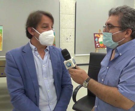 Il Presidente dell'INPS, Prof. Pasquale Tridico ai microfoni di TeleDiamante