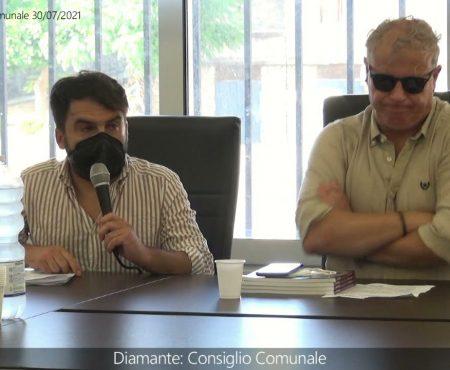 Diamante. Consiglio Comunale del 30/07/2021